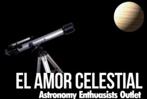 El Amor Celestial Telescopes Logo
